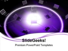 Networking Communication PowerPoint Templates And PowerPoint Backgrounds 0711
