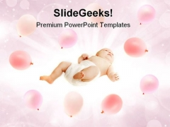 New Born Baby Family PowerPoint Templates And PowerPoint Backgrounds 0611