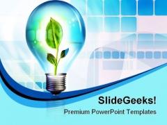 New Idea Future PowerPoint Template 1110