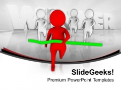 New Ideas And Win The Race In Business PowerPoint Templates Ppt Backgrounds For Slides 0413