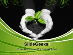 New Life Nature PowerPoint Themes And PowerPoint Slides 0511