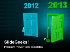 New Opportunities In New Year PowerPoint Templates Ppt Backgrounds For Slides 0513