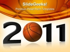 New Year 2011 Sports PowerPoint Backgrounds And Templates 1210