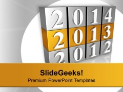 New Year 2013 2014 New Target PowerPoint Templates Ppt Backgrounds For Slides 0113