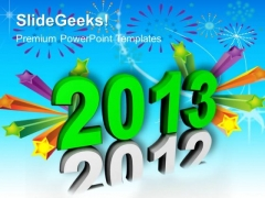 New Year 2013 Festival PowerPoint Templates And PowerPoint Themes 0912