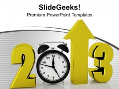 New Year Celebration With Creativity PowerPoint Templates Ppt Backgrounds For Slides 0513