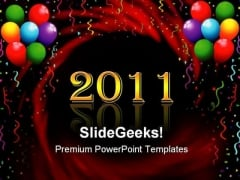 New Year Celebrations Events PowerPoint Themes And PowerPoint Slides 0511