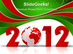 New Year Concept Global PowerPoint Templates And PowerPoint Backgrounds 1011