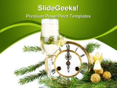 New Year Decoration Festival PowerPoint Themes And PowerPoint Slides 0711