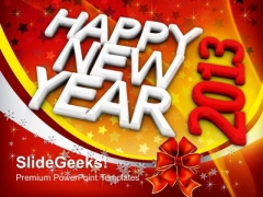 New Year Holiday PowerPoint Templates And PowerPoint Themes 1012