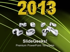 New Year Over The Past Years A Beautiful PowerPoint Templates Ppt Backgrounds For Slides 1212