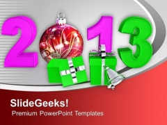 New Year Party Theme PowerPoint Templates Ppt Backgrounds For Slides 0513