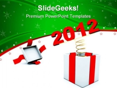 New Year Present Lifestyle PowerPoint Templates And PowerPoint Backgrounds 1011