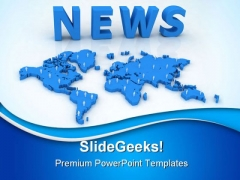 News Business PowerPoint Templates And PowerPoint Backgrounds 0411