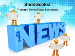 News Global PowerPoint Themes And PowerPoint Slides 0711