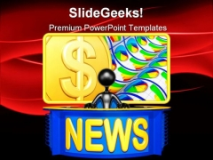 News Report Business PowerPoint Themes And PowerPoint Slides 0511