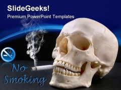No Smoking Health PowerPoint Templates And PowerPoint Backgrounds 0311