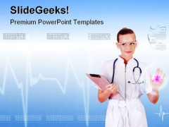 Nurse Medical PowerPoint Templates And PowerPoint Backgrounds 0611