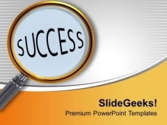 Observe The Points For Success PowerPoint Templates Ppt Backgrounds For Slides 0513