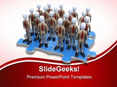 Obstacles In Agreement Business PowerPoint Templates And PowerPoint Backgrounds 0811
