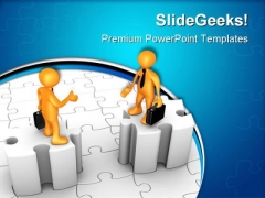 Obstacles In Agreement Business PowerPoint Themes And PowerPoint Slides 0711