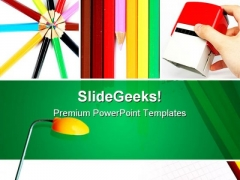 Office Collage Business PowerPoint Themes And PowerPoint Slides 0811