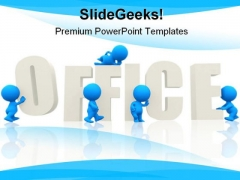 Office People Business PowerPoint Background And Template 1210