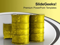 Oil Prices Are Hiking Day By Day PowerPoint Templates Ppt Backgrounds For Slides 0713