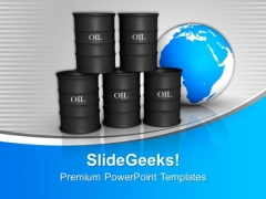 Oil Trading Concept Global Business PowerPoint Templates Ppt Backgrounds For Slides 0113