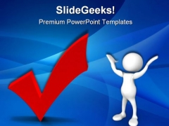 Ok Red Business PowerPoint Templates And PowerPoint Backgrounds 0511
