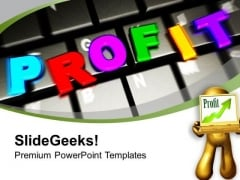 Online Business Development And Profits PowerPoint Templates Ppt Backgrounds For Slides 0313