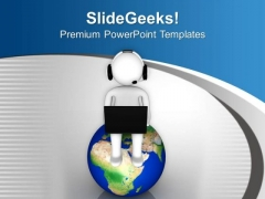 Online Information Of World PowerPoint Templates Ppt Backgrounds For Slides 0413