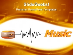 Online Music Internet PowerPoint Templates And PowerPoint Backgrounds 0211