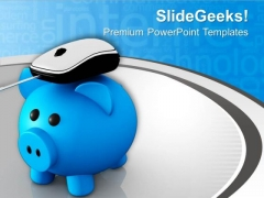 Online Saving Investment PowerPoint Templates Ppt Backgrounds For Slides 0213