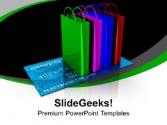 Online Shopping Internet PowerPoint Templates Ppt Backgrounds For Slides 0113