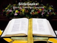 Open Bible Church PowerPoint Templates And PowerPoint Themes 0712