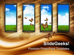 Open The Windows Nature PowerPoint Templates And PowerPoint Backgrounds 0811