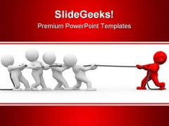 Opponent Leadership PowerPoint Templates And PowerPoint Backgrounds 0711