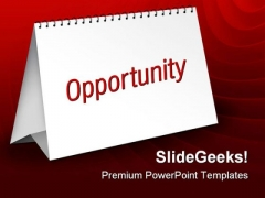Opportunity Business PowerPoint Themes And PowerPoint Slides 0711