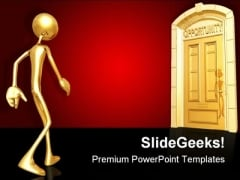 Opportunity Doorway Business PowerPoint Templates And PowerPoint Backgrounds 0811
