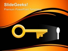 Opportunity Key Business PowerPoint Templates And PowerPoint Themes 0312