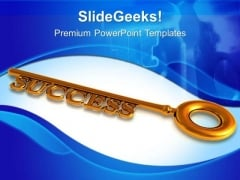 Opportunity Keys Success PowerPoint Templates And PowerPoint Themes 0712