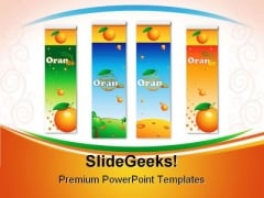 Orange Juice Health PowerPoint Templates And PowerPoint Backgrounds 0711