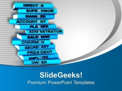 Organize Your Books Education Theme PowerPoint Templates Ppt Backgrounds For Slides 0513