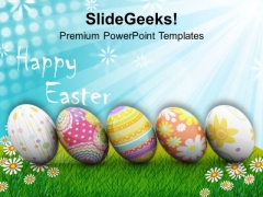 Origin Of Spring New Life Happy Easter PowerPoint Templates Ppt Backgrounds For Slides 0313