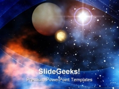 Outer Space Geographical PowerPoint Themes And PowerPoint Slides 0711
