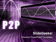 P2p Business PowerPoint Themes And PowerPoint Slides 0511
