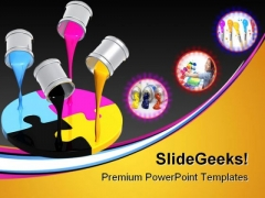 Palette Cmyk Education PowerPoint Themes And PowerPoint Slides 0411