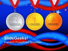 Participate In Game And Win Prizes PowerPoint Templates Ppt Backgrounds For Slides 0713