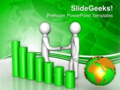 Partnership In Global Business Success PowerPoint Templates Ppt Backgrounds For Slides 0613